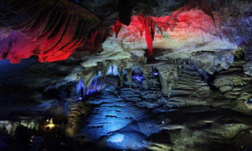 Zdjecie GRUZJA / Kutaisi / Tskaltubo - Jaskinia Prometeusza / Świat mroku i barw