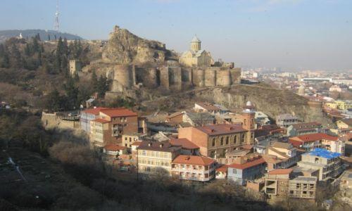 Zdjecie GRUZJA / Dolna Kartlia / Tbilisi / Twierdza Narikala