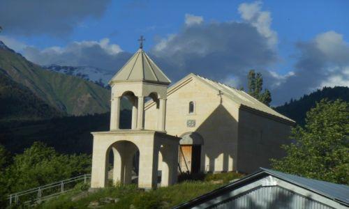 Zdjecie GRUZJA / Swanetia / Mestia / kościółek