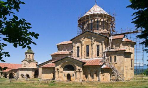 Zdjęcie GRUZJA / Imeretia / Kutaisi / Monastyr Gelati