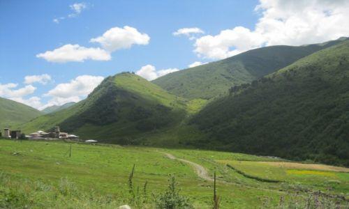 Zdjecie GRUZJA / Gruzja / Gruzja / Krajobraz górski