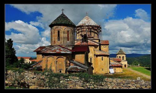 GRUZJA / zachodnia Gruzja, niedaleko Kutaisi / Klasztor Gelati / Klasztor