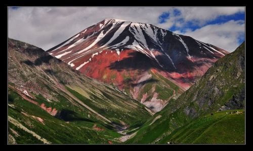 Zdjęcie GRUZJA / Kaukaz / Gudaurii / Góra