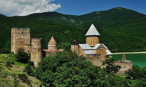 Zdjęcie GRUZJA / niedakleko Tbilisi... / Ananuri / Twierdza