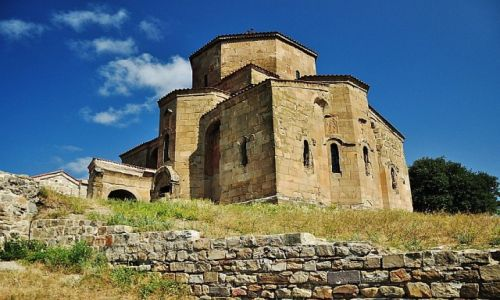 Zdjęcie GRUZJA / wschodnia Gruzja / niedaleko miasta Mccheta / Klasztor Jvari
