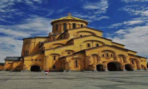 Zdjęcie GRUZJA / Tbilisi / Tbilisi / Sobór św. Trójcy