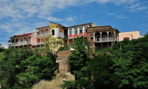 Zdjecie GRUZJA / Tbilisi / Tbilisi / Balkonik