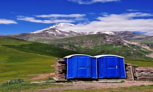Zdjecie GRUZJA / Kaukaz / Kazbek 5033m npm / Ekologia