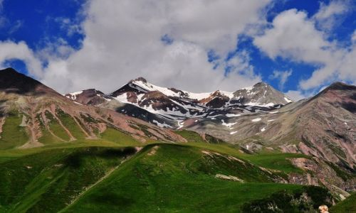 Zdjęcie GRUZJA / Gudari / Gudauri / Kaukaz
