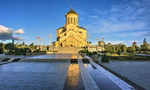 Zdjecie GRUZJA / Tbilisi / Tbilisi / Sobór Trójcy Świętej w Tbilisi