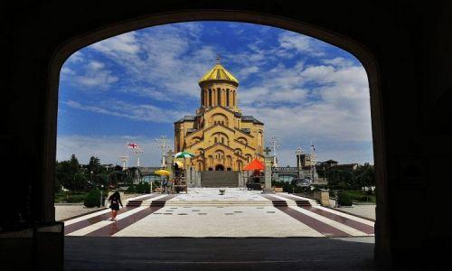 Zdjęcie GRUZJA / Tbilisi / Tbilisi / Sobór św.Trójcy