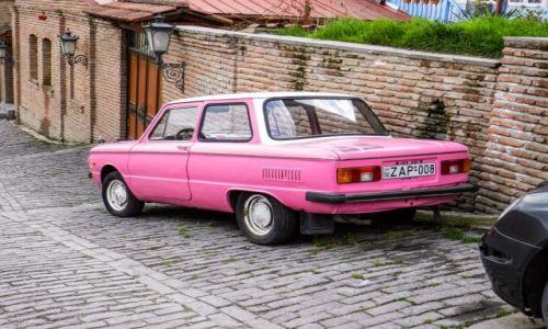 Zdjecie GRUZJA / Tbilisi / Tbilisi / Pink Florida Zaporożec