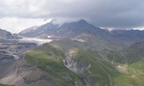 Zdjęcie GRUZJA / Kaukaz / Stepancminda / Kazbek
