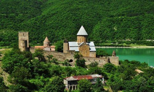 Zdjęcie GRUZJA / Gruzja / rzeka Argavi / Ananuri
