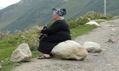 Zdjecie GRUZJA / Górna Swanetia / Ushguli / odpoczynek