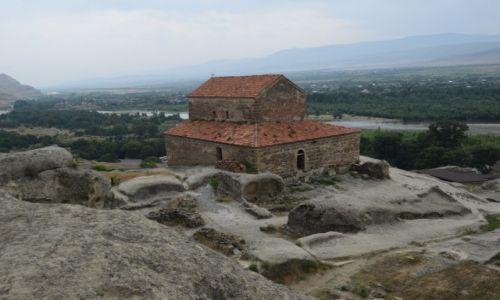 Zdjęcie GRUZJA / Gori / Upliscyche / Skalne miasto Upliscyche