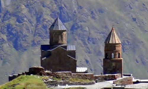 Zdjęcie GRUZJA / Kaukaz /  Cminda Sameba nad Gergeti /  Cminda Sameba po raz 101