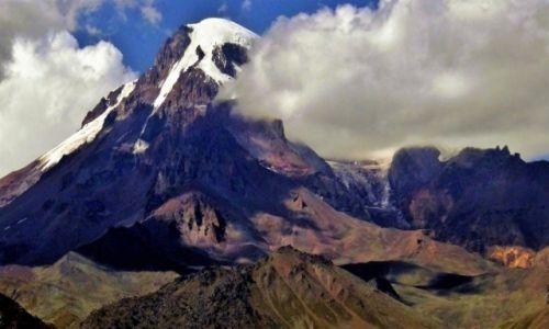 Zdjecie GRUZJA / Kaukaz / Mt. Kazbek / Góra godna Prometeusza