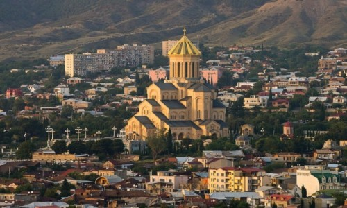 Zdjecie GRUZJA / Tbilisi / Tbilisi / Cminda Sameba