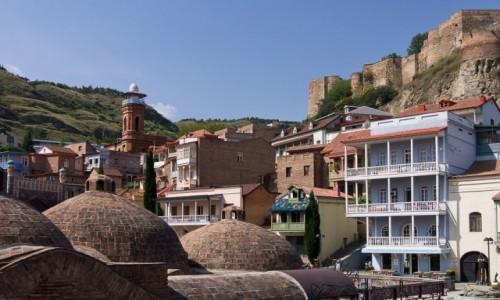 Zdjęcie GRUZJA / Tbilisi / Tbilisi / dzielnica Abanotubani