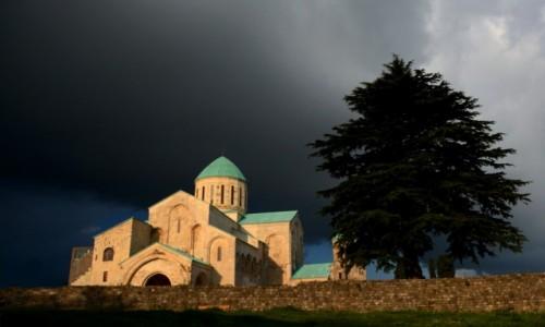 Zdjęcie GRUZJA / zachodnia Gruzja / Kutaisi, wzgórze Ukimerioni / Monastyr Bagrati
