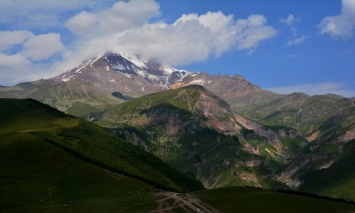 GRUZJA / Wielki Kaukaz - Pasmo Boczne / Kaukaz / Kazbek