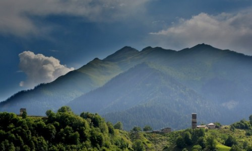 Zdjęcie GRUZJA / Swanetia / okolice Mestii / Wieże Swanetii
