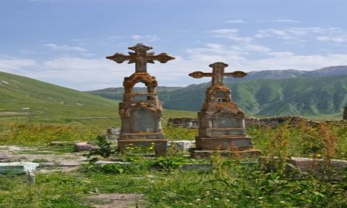 Zdjęcie GRUZJA / Kaukaz / Dolina Truso / Ku pamięci