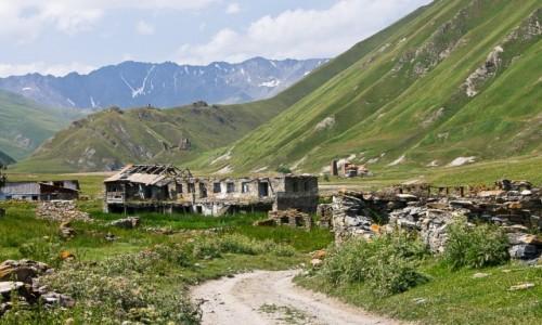 Zdjęcie GRUZJA / GDW / Dolina Truso / Kiedyś tu była wioska