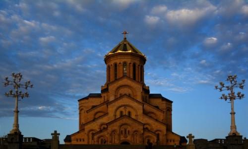 Zdjecie GRUZJA / Tbilisi / Tbilisi / Sobór Trójcy Świętej