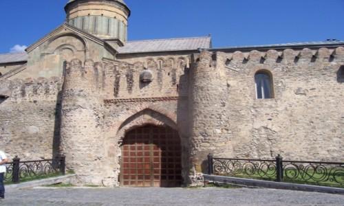 Zdjecie GRUZJA / Kaukaz / Mccheta  dawna stolica Gruzji / Mccheta (ang. Mtskheta) dawna stolica Gruzji