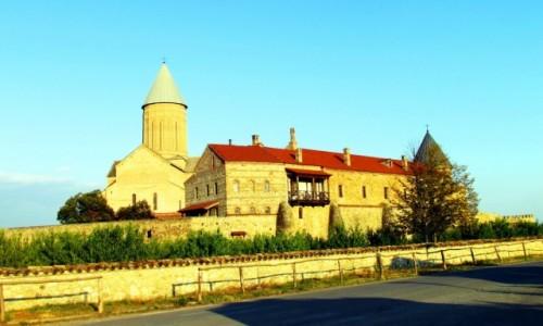 Zdjecie GRUZJA / Kachetia / Alawerdi / Katedra