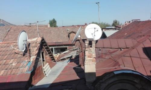Zdjęcie GRUZJA / stolica / z okna / Tbilisi