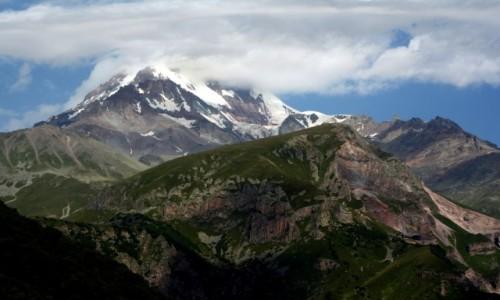 Zdjecie GRUZJA / Wielki Kaukaz - Pasmo Boczne / Kazbek / Kazbek - raz je
