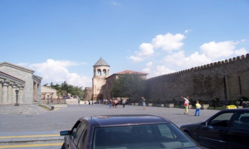 Zdjecie GRUZJA / Kaukaz / Mccheta  Gruzja / Mccheta (ang. Mtskheta) dawna stolica Gruzji
