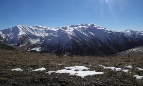 Zdjecie GRUZJA / Mergelia i Górna Swanetia / Swanetia, przełęcz Chhunteri / Kaukaski pejzaż