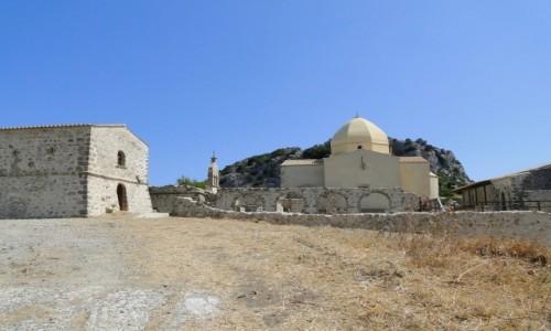 GRUZJA / Zakynthos / Góra Skopos / Zakynthos - klasztor na Skopos.