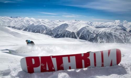 Zdjęcie GRUZJA / Svanetia / Tetnuldi Ski Resort / Białe szaleństwa na Kaukazie