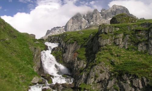 Zdjecie GRUZJA / Tusheti / Tusheti National Park / Wodospad