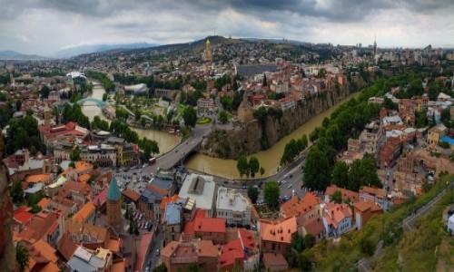 GRUZJA / Tbilisi / Tbilisi / Panorama