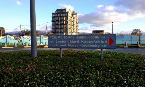 Zdjecie GRUZJA / Adżaria / Batumi / Ul. Lecha i Marii Kaczyńskich