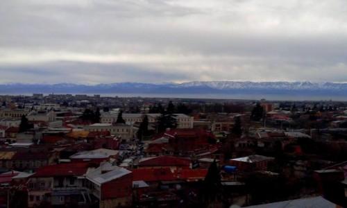 GRUZJA / Imeretia / Kutaisi / Panorama Kutaisi
