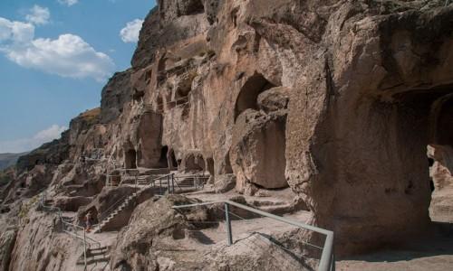 Zdjęcie GRUZJA / Góry Eruszeli / Wardzia / Wardzia - skalne miasto-monastyr