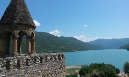 Zdjęcie GRUZJA / mcheta tianeti / Ananuri / Ananuri