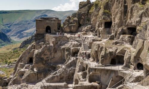 Zdjecie GRUZJA /  Samcche-Dżawachetia. / Wardzia / W labiryncie skalnego miasta