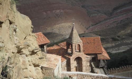 Zdjęcie GRUZJA / Kachetia / kompleks  klasztorny Dawid Garedża / Dawid Garedża