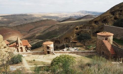 GRUZJA / Kachetia / kompleks  monastyrów Dawid Garedża / Dawid Garedża