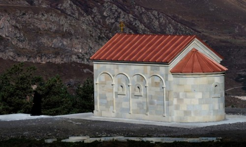Zdjecie GRUZJA / Mccheta-Mtianetia / okolice Stepancmindy (Kazbegi) / Ioane Natlismcemeli