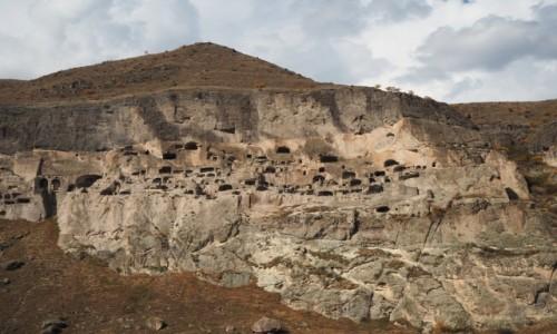 Zdjecie GRUZJA / Samcche-Dżawachetia / Wardzia / Miasto-klasztor Wardzia