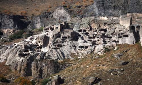 Zdjecie GRUZJA / Samcche-Dżawachetia / Wardzia / Miasto skalne